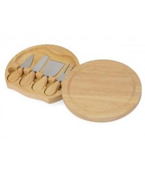Подарочный набор для сыра в деревянной упаковке