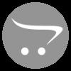 ALLEGRA SWING, ручка шариковая, черный/белый, прозрачный корпус, белый барабанчик, пластик